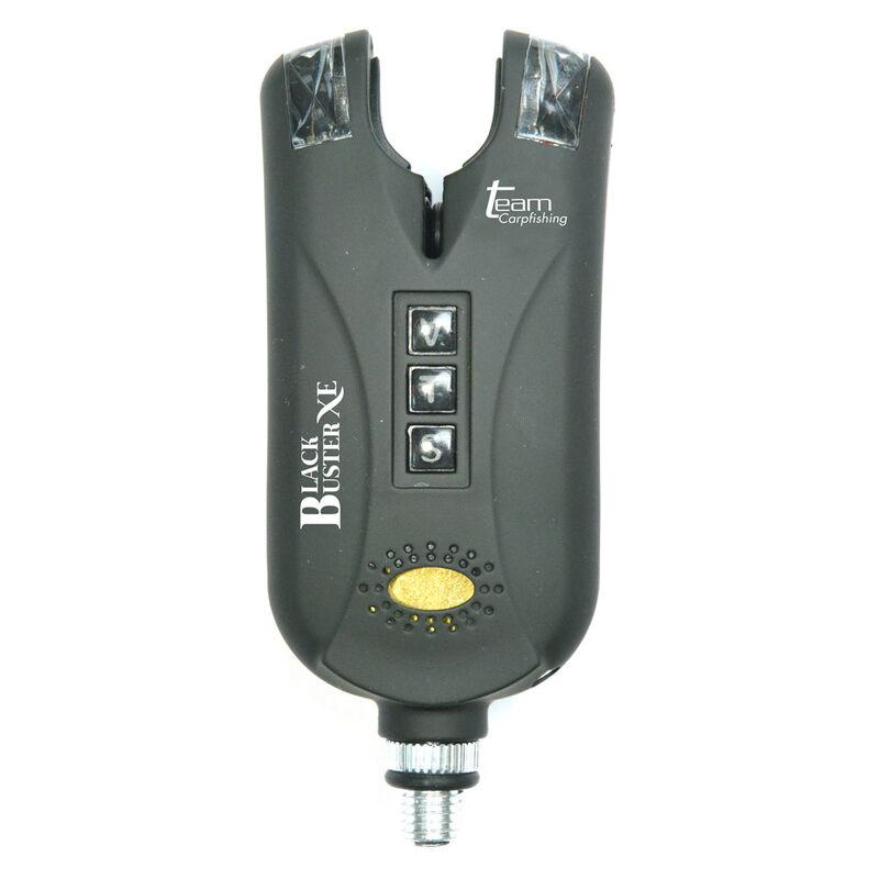 Coffret 4 détecteurs carpe team carpfishing black buster xe + centrale - Coffrets détecteurs | Pacific Pêche