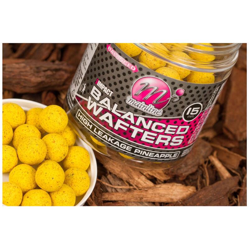 Bouillettes équilibrées carpe mainline high impact balanced wafters h/l pineapple - Equilibrées | Pacific Pêche