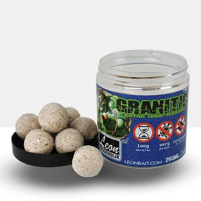 Bouillettes carpe hoogendijk granitic extra hard hoobait scopex supreme 25mm - Equilibrées | Pacific Pêche