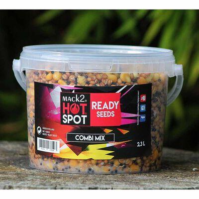 Graine cuite carpe mack2 ready made combi mix 2.3l - Prêtes à l'emploi | Pacific Pêche