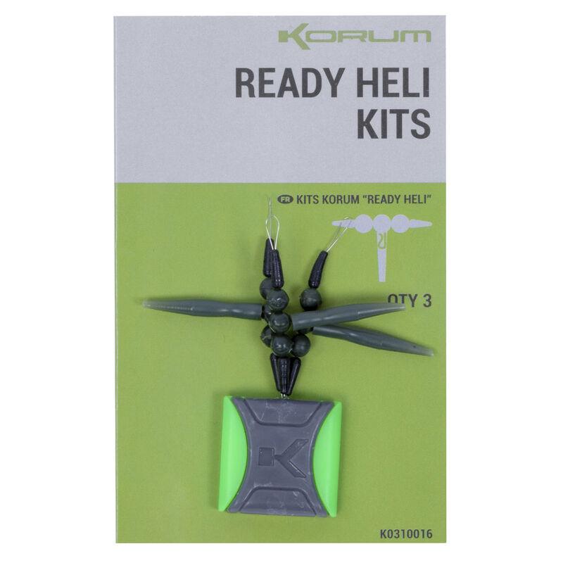 Kit de montage potence coup korum ready heli-kits (x3) - Emerillons / Agrafes / Perles | Pacific Pêche