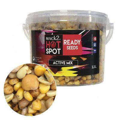 Graine cuite carpe mack2 ready made active mix 2.3l - Prêtes à l'emploi | Pacific Pêche