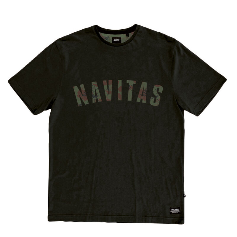 T-shirt navitas sloe tee green (noir) - Tee-shirts   Pacific Pêche