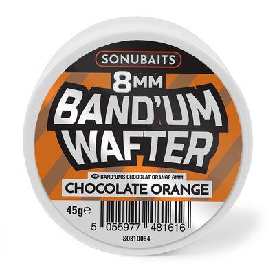 Dumbells équilibrés coup sonubaits band'um wafters 50g chocolat orange - Eschage | Pacific Pêche