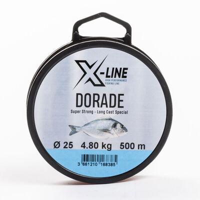 Fil nylon x-line daurade spéciale longues distances - Monofilaments | Pacific Pêche