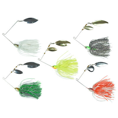 Kit de leurres carnassier carnassier redfish 5 spinnerbaits - Packs | Pacific Pêche