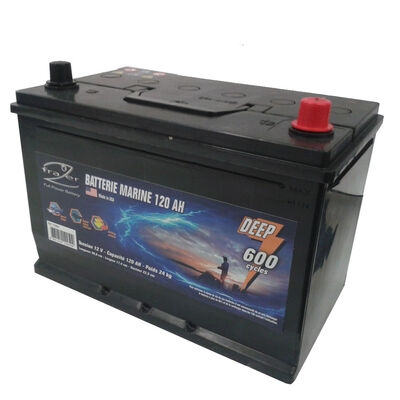 Batterie marine frazer 120ah 600 cycles - Batteries | Pacific Pêche
