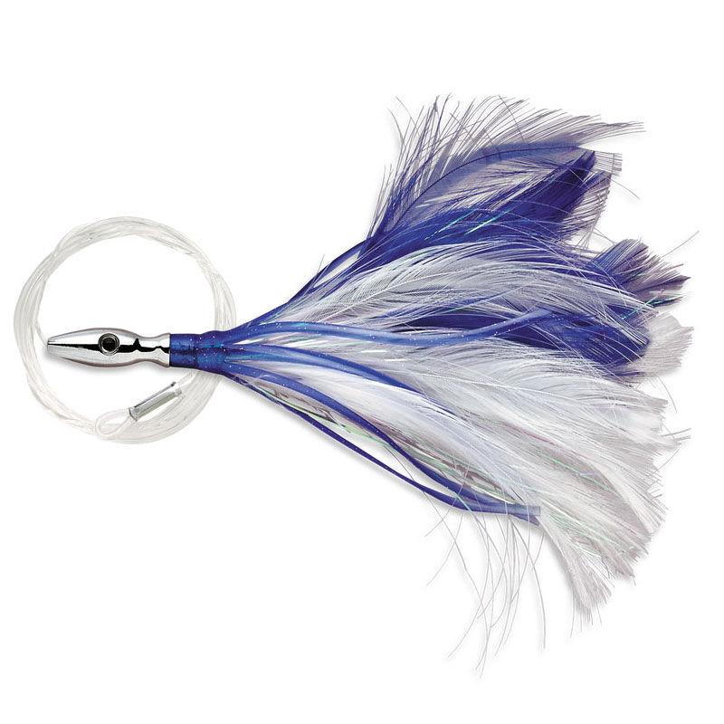 Leurre à plumes williamson flash feather rigged 10,2cm - Leurres Traine | Pacific Pêche