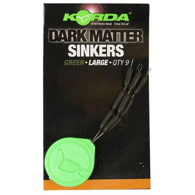 Sinker carpe korda sinker tungsten hooklink weight green - Pates Plombées/Sinkers | Pacific Pêche