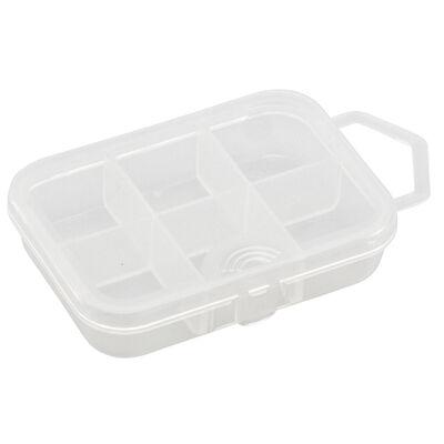 Boîte à accessoires carnassier plastilys boite 6 cases 9.1 x 6.6 x 2.2cm - Boîtes | Pacific Pêche