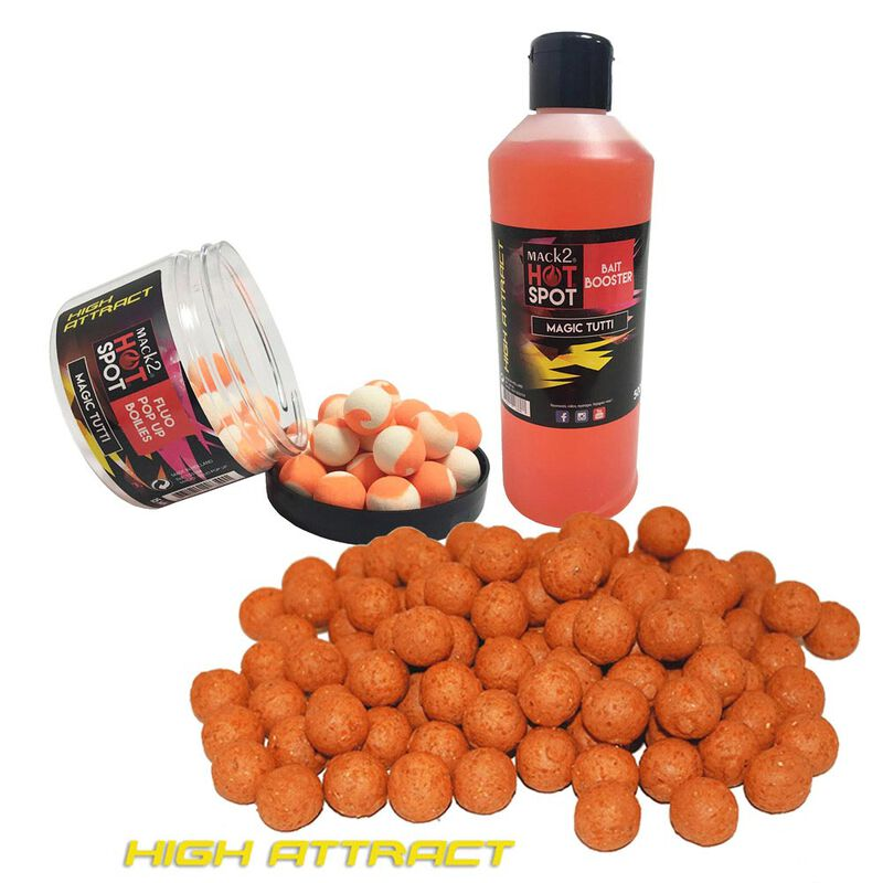 Pack week end mack2 high attract magic tutti  5kg + booster + popup - Packs | Pacific Pêche