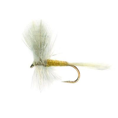 Mouche sèche silverstone grise à corp jaune h16 (x3) - Sèches   Pacific Pêche