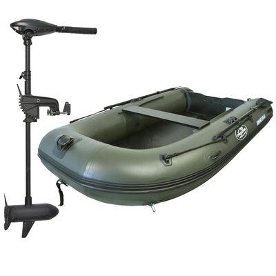Pack bateau komando 290hd + moteur frazer 55lbs - Pneumatiques   Pacific Pêche