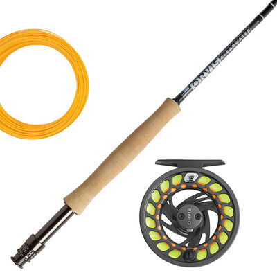 Ensemble orvis canne clearwater 9' soie 4 + moulinet clearwater gray 2 - Ensembles | Pacific Pêche