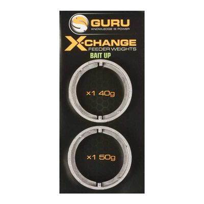 Cages feeder coup guru x-change bait up feeder heavy spare weight pack - Cages feeder | Pacific Pêche