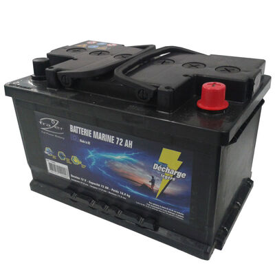 Batterie frazer marine 72ah decharge legere - Batteries | Pacific Pêche