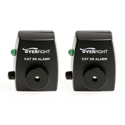 Pack de 2 détecteurs silure overfight cat xr alarm - Détecteurs | Pacific Pêche