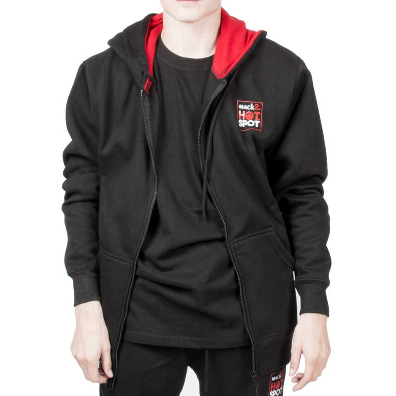 Sweat shirt black zipé mack2 hot spot - Sweats | Pacific Pêche