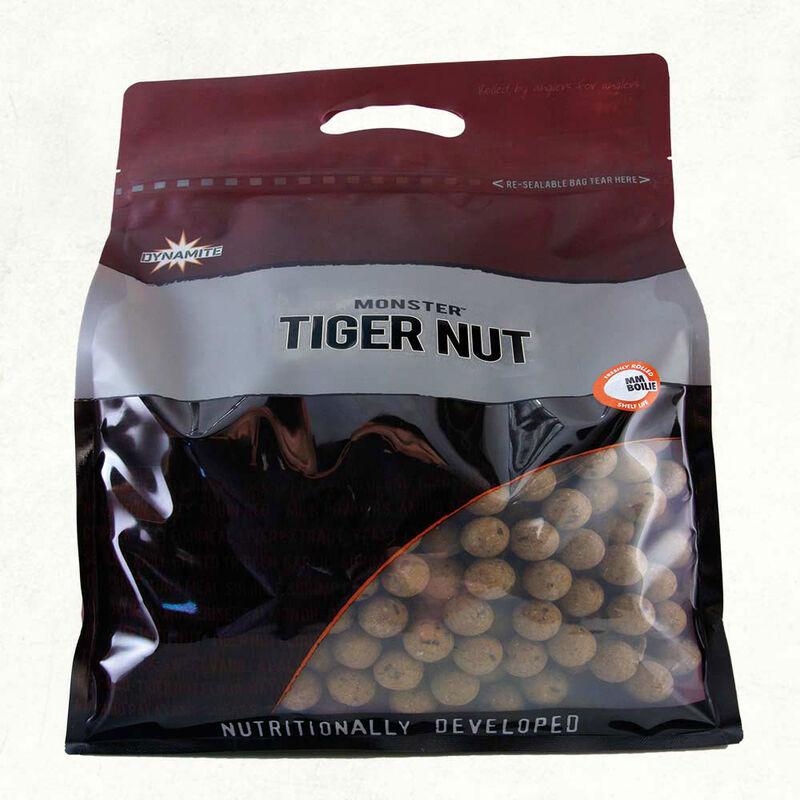 Bouillettes carpe dynamite baits monster tiger nut 1kg - Denses | Pacific Pêche