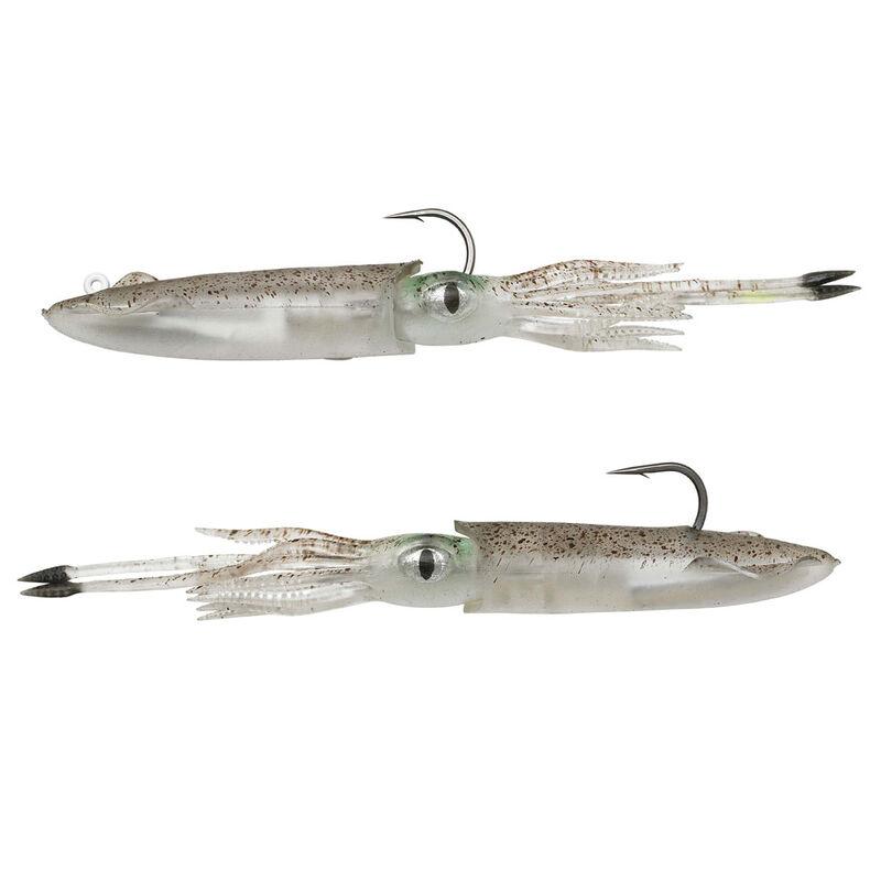 Leurre calamar 3d swim squid savage gear 9.5cm 10g (2 pièces par pochette) - Leurres souples | Pacific Pêche