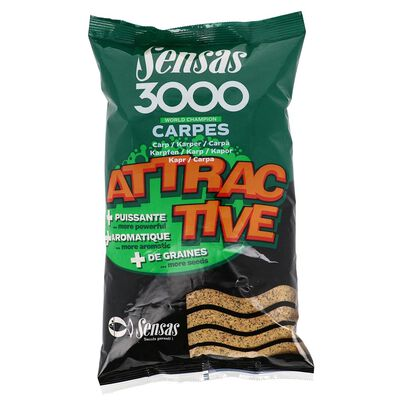 Amorce coup sensas 3000 attractive carpe 1kg - Amorces | Pacific Pêche