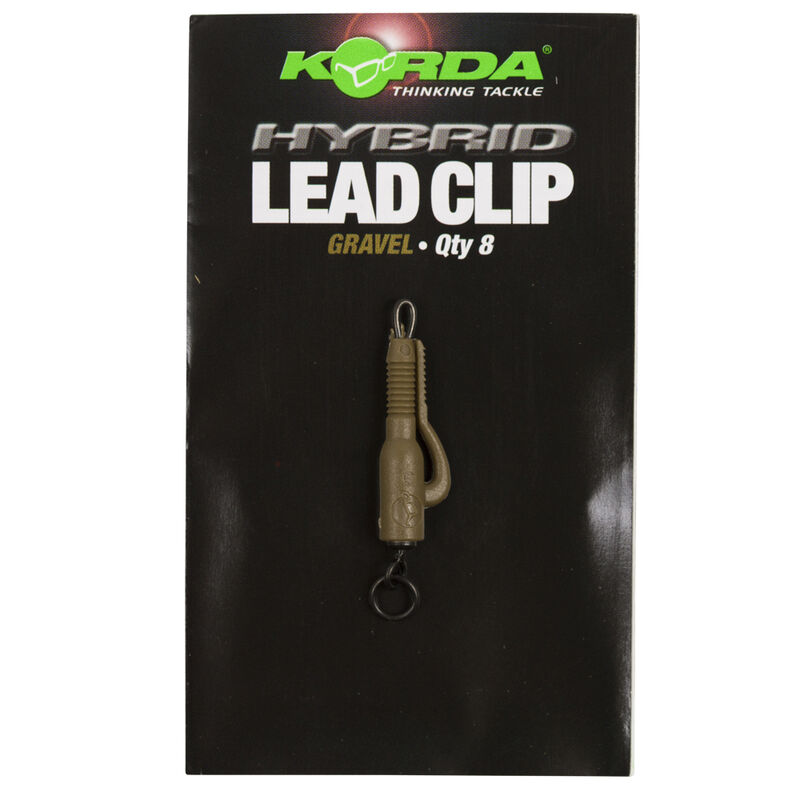 Clip plomb carpe korda hybrid lead clip (x5) - Clip plombs et cônes | Pacific Pêche