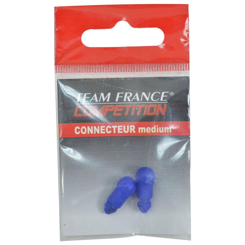 Connecteurs coup team france perles de connexion (x2) - Fixes Ligne | Pacific Pêche