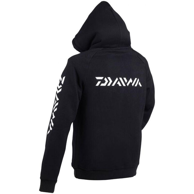 Sweat à capuche daiwa noir - Sweat Shirt | Pacific Pêche