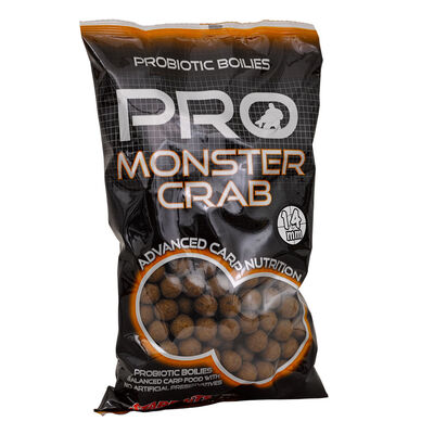 Bouillettes carpe probiotic monstercrab boilie 14mm - Denses | Pacific Pêche