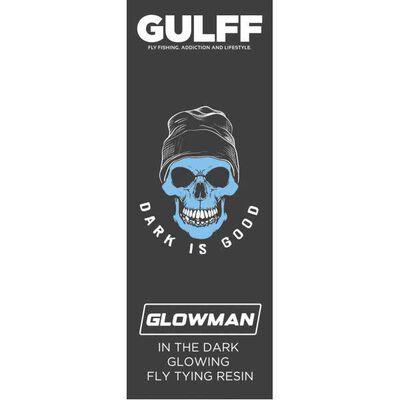 Résinu uv gulff glowman 15 ml (phospho) - Vernis | Pacific Pêche