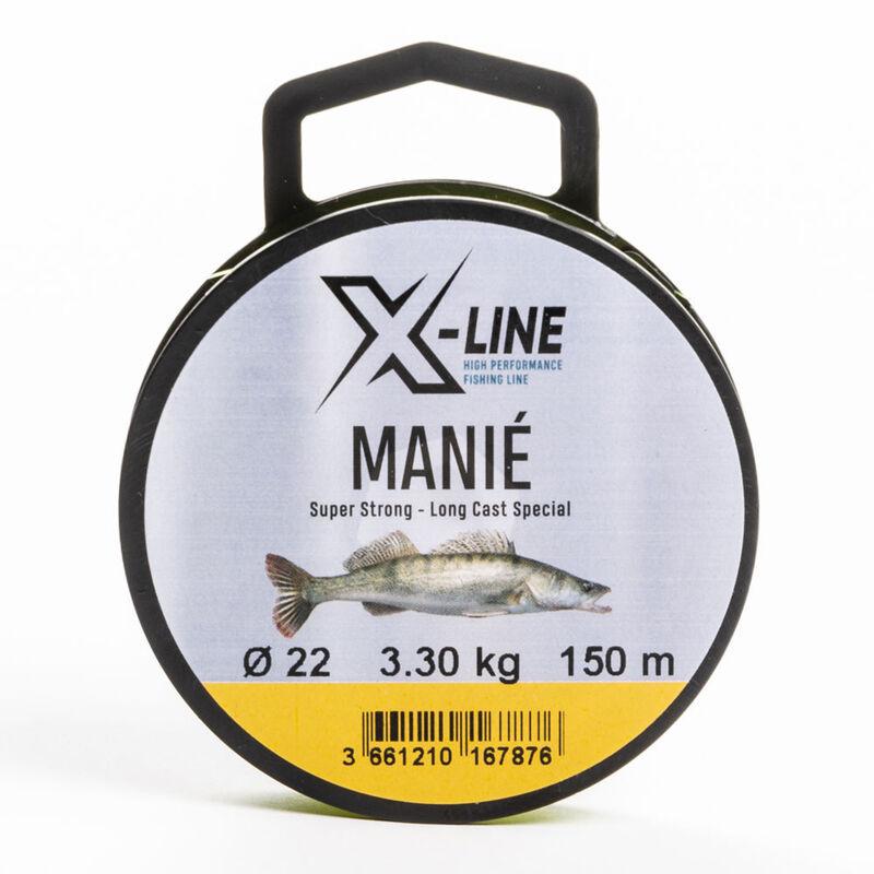 Nylon carnassier x-line manié 150m - Nylons | Pacific Pêche