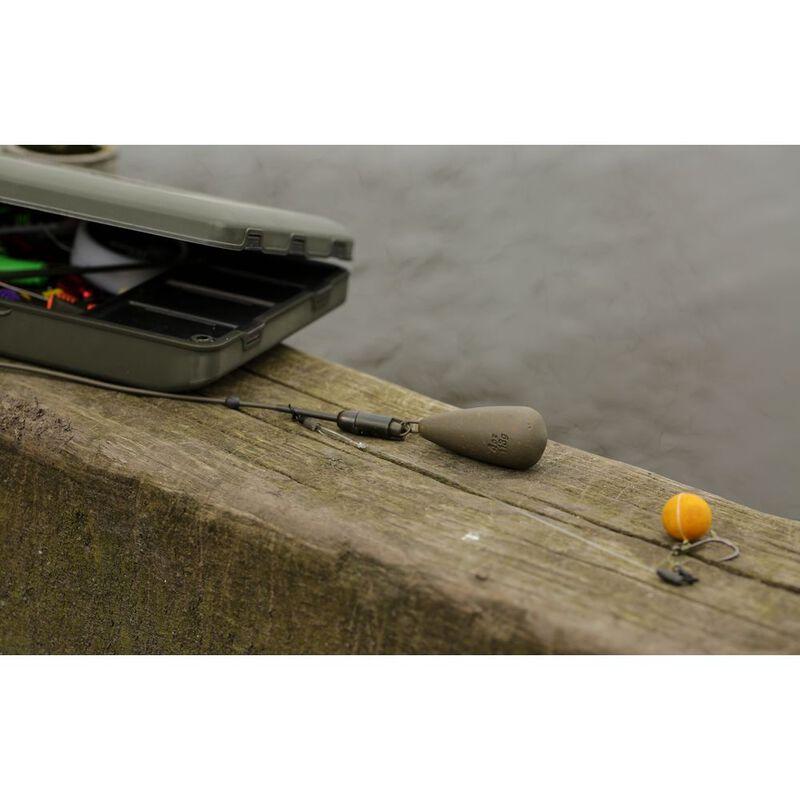 Kit hélicoptère carpe korda heli safe tubing kit - Clip plombs et cônes | Pacific Pêche