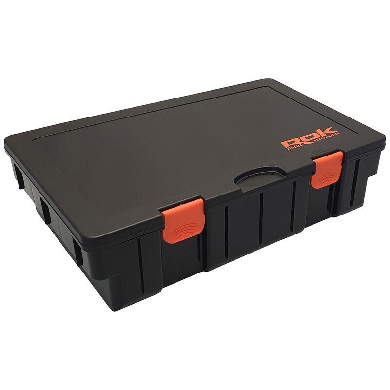 Boite carpe rok black storage box 380xl - Boîtes | Pacific Pêche
