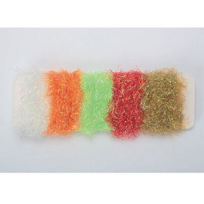 Fly tying jmc flash chenille assortiment 5 coloris - Chenilles | Pacific Pêche