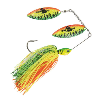 Leurre métallique spinnerbait silure cat spirit firetiger - Spinnerbaits | Pacific Pêche