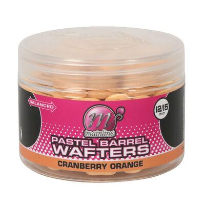 Bouillettes équilibrées carpe mainline wafter barrels cranberry orange 12/15mm - Equilibrées | Pacific Pêche