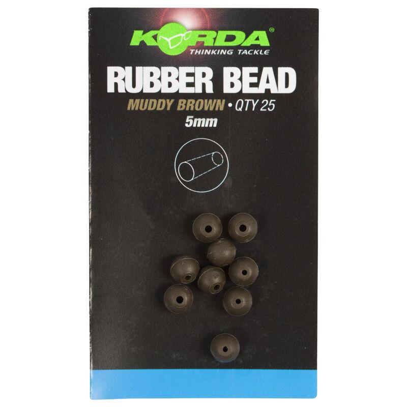 Perle de protection pour ligne carpe korda safe zone 5mm rubber bead (x25) - Perles | Pacific Pêche