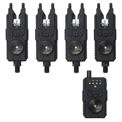 Coffret 4 détecteurs carpe prologic custom smx mkii alarms wts + centrale - Coffrets détecteurs | Pacific Pêche