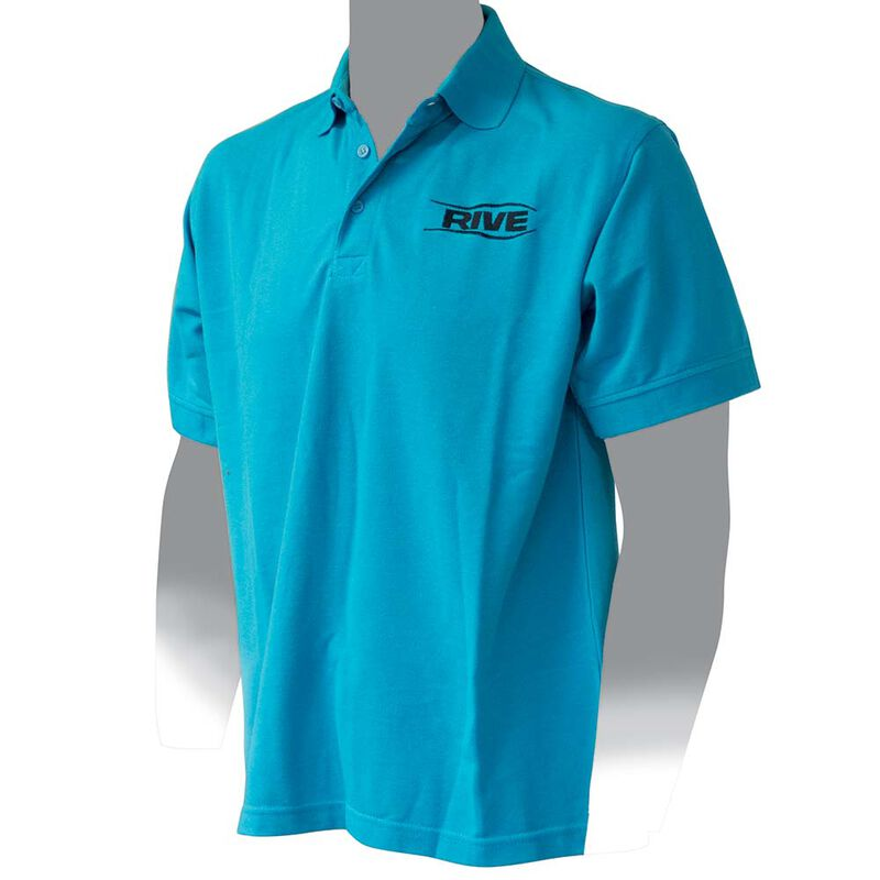 Polo rive manches courtes homme couleur turquoise - Polos | Pacific Pêche