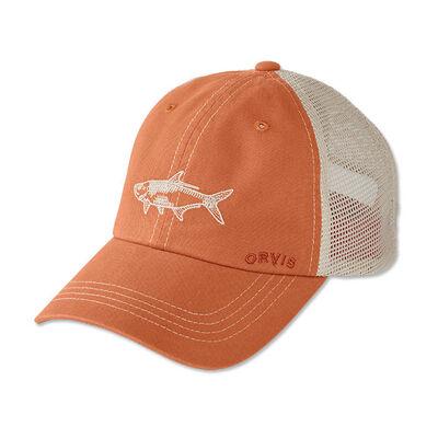 Casquette orvis saltwater bum orange - Casquettes | Pacific Pêche