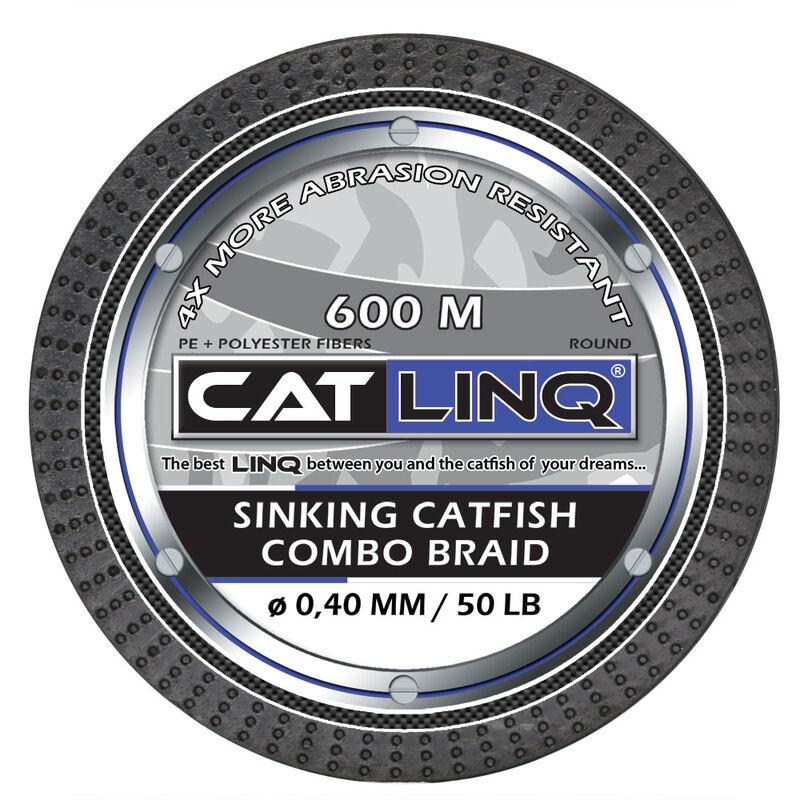 Tresse silure cat linq sinking catfish combo braid 600m - Tresses   Pacific Pêche