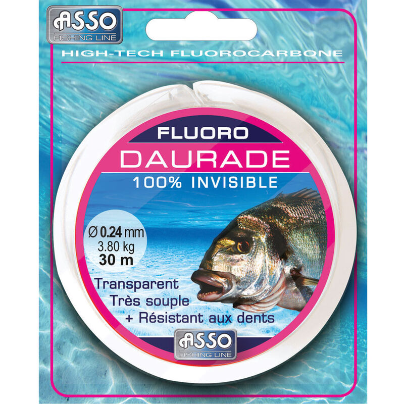 Fluorocarbone asso fluoro daurade royale 30m - Fluorocarbons | Pacific Pêche