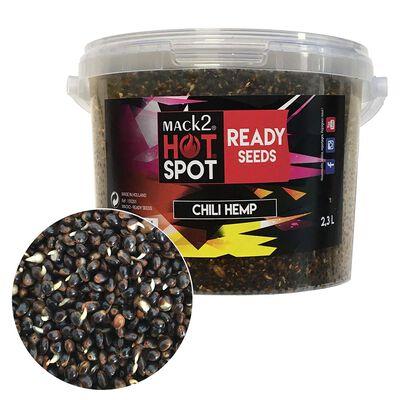 Graine cuite carpe mack2 ready made chili hemp 2.3l - Prêtes à l'emploi | Pacific Pêche