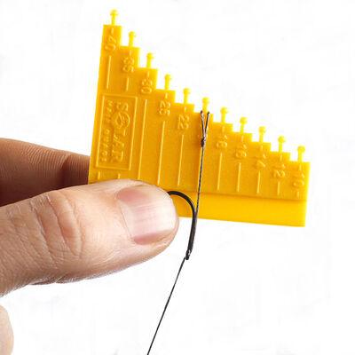 Outil pour cheveux solar hair gauge tool - Outil à noeuds | Pacific Pêche