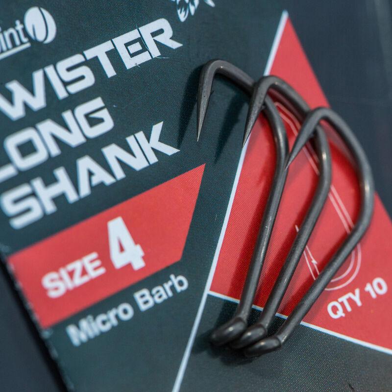 Hameçon carpe nash twister long shank - Hameçons | Pacific Pêche