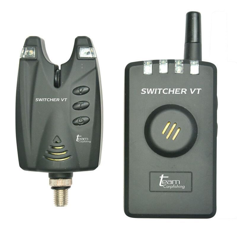 Coffret 4 détecteurs carpe team carpfishing switcher vt + centrale - Coffrets détecteurs | Pacific Pêche