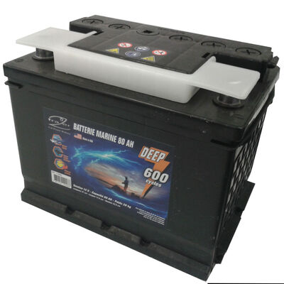 Batterie marine frazer 80ah 600 cycles - Batteries | Pacific Pêche