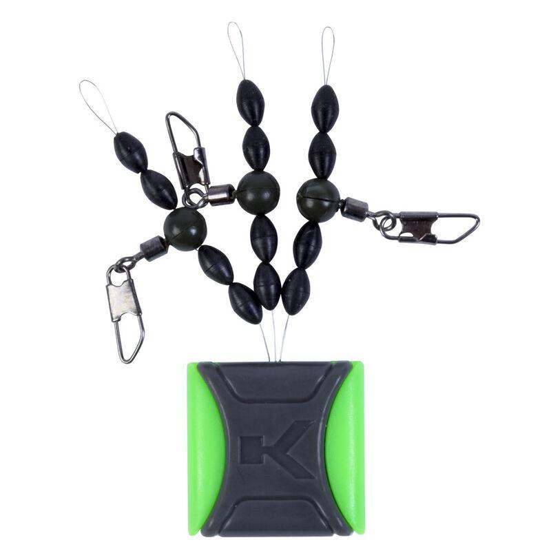 Agrafes pour flotteur coup korum ready float kits (3 piéces) - Emerillons / Agrafes / Perles | Pacific Pêche