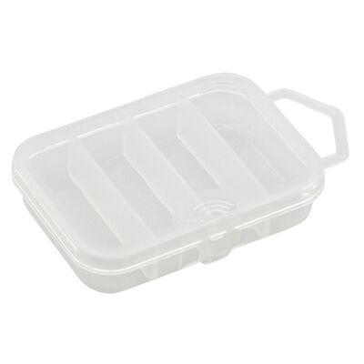Boîte à accessoires carnassier plastilys boite 4 cases - Boîtes | Pacific Pêche