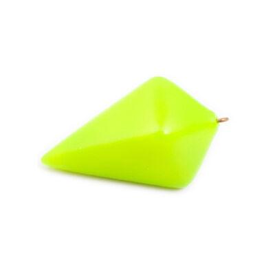 Plomb portugais plastifié jaune - Plombs | Pacific Pêche